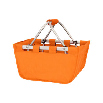 Mini Orange Market Tote   Orange