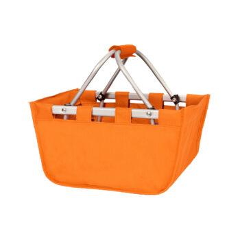 Mini Orange Market Tote   Orange