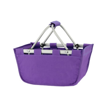 Mini Purple Market Tote   Purple