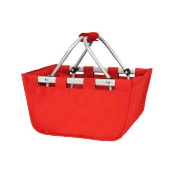 Mini Red Market Tote   Red