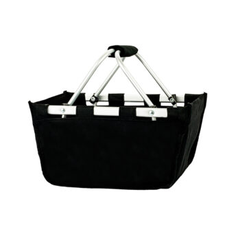 Mini Black Market Tote   Black