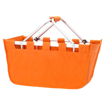 Orange Market Tote   Orange
