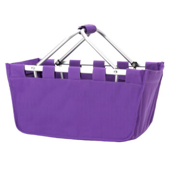 Purple Market Tote   Purple