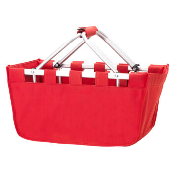 Red Market Tote   Red