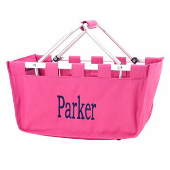 Hot Pink Market Tote   Hot Pink