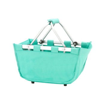 Mini Mint Market tote   Mint