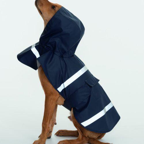 1099 Doggie Rain Jacket   Aqua