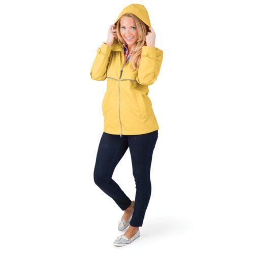 5099 154 m womens new englander rain jacket lg hr