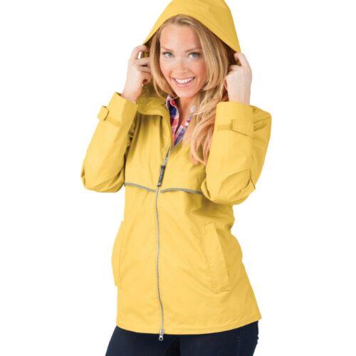 5099 154 m womens new englander rain jacket lg lo