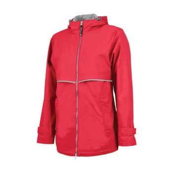5099 Women's New Englander Rain   Red