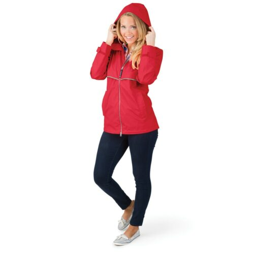 5099 166 m womens new englander rain jacket lg hr