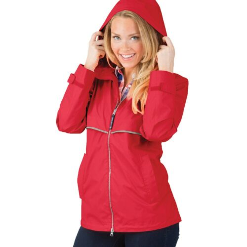 5099 166 m womens new englander rain jacket lg lo