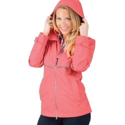 5099 256 m womens new englander rain jacket lg lo