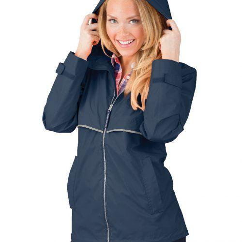 5099 Women's New Englander Rain   True Navy