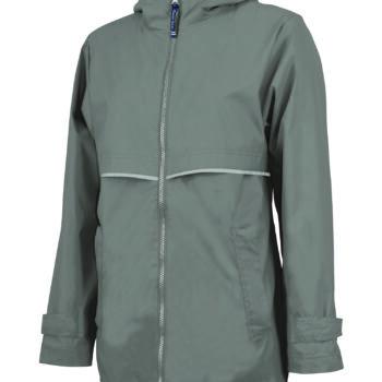 5099 Women's New Englander Rain   Grey