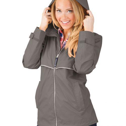 5099 316 m womens new englander rain jacket lg lo