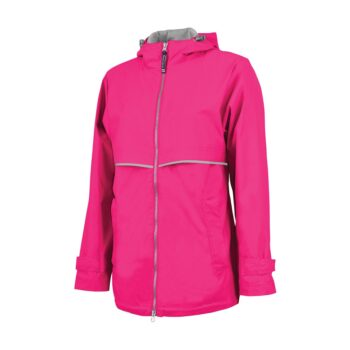 5099 Women's New Englander Rain   Hot Pink