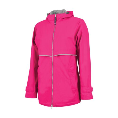 5099 Women's New Englander Rain   Hot Pink
