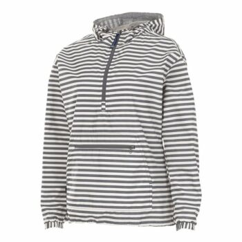 5809 Chatham Anorak   Grey Stripe
