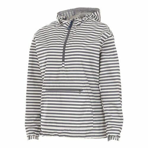 5809 Chatham Anorak   Grey Stripe