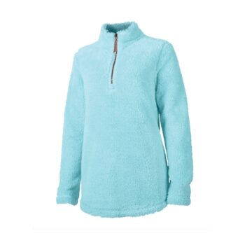 5876 Ladies Newport Fleece   Aqua