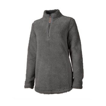 5876 Ladies Newport Fleece   Charcoal