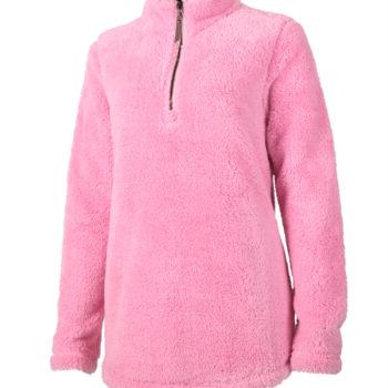5876 Ladies Newport Fleece   Powder Pink