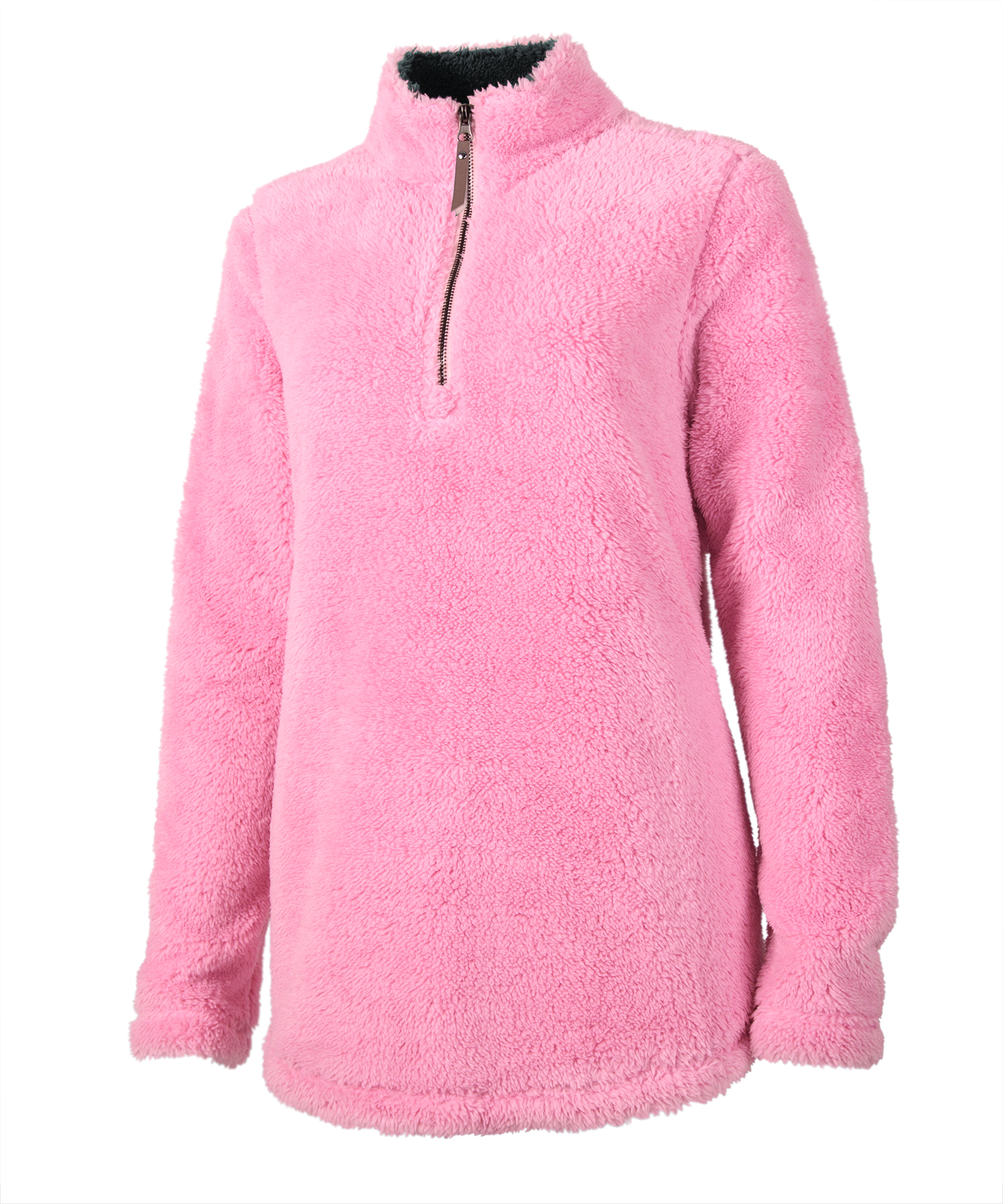 5876 Ladies Newport Fleece   Powder Pink