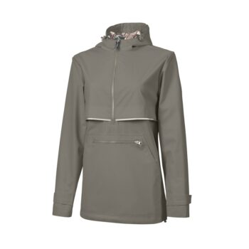 5892 Women's New England Pullover   Grey/Reflect