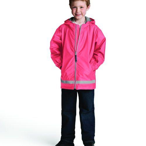 8099 256 m youth new englander rain jacket lg hr