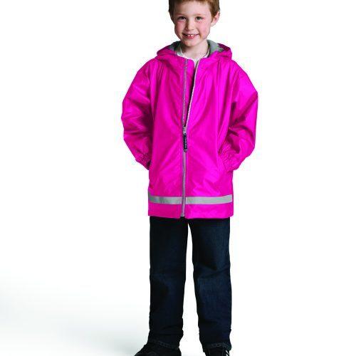 8099 334 m youth new englander rain jacket lg hr