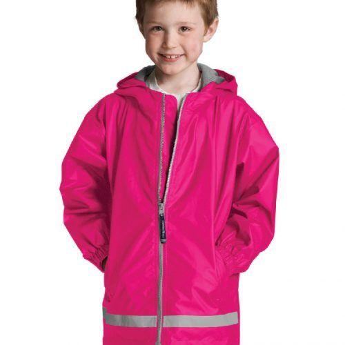 8099 334 m youth new englander rain jacket lg lo