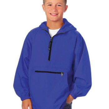 8904 Youth PackNGo Pullover   Royal