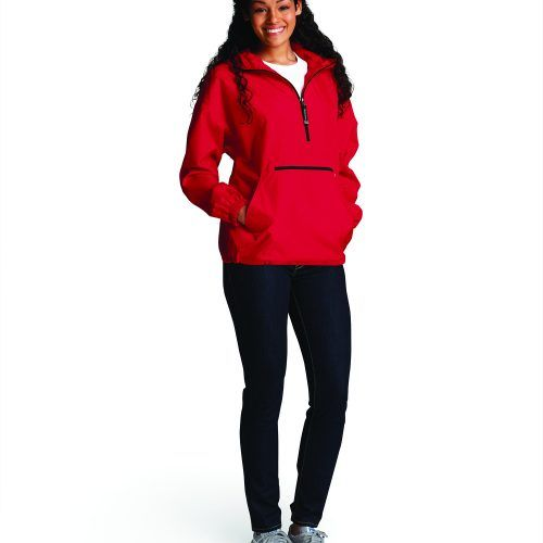 9904 Pack N Go Pullover   Red