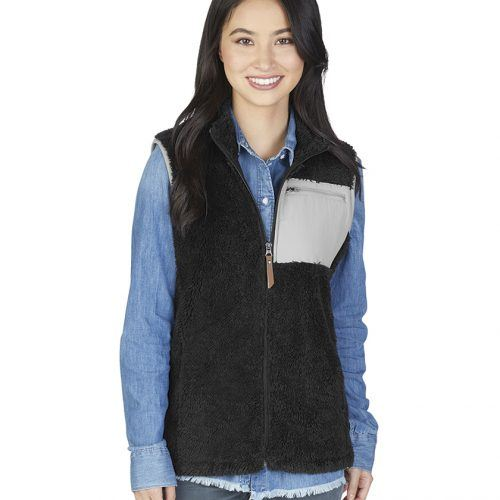 5974 006 m womens newport fleece vest lg lo
