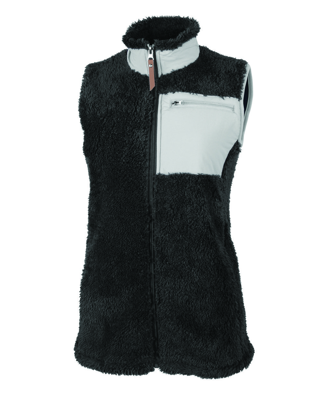 5974 Women's Newport Vest   Black/Grey