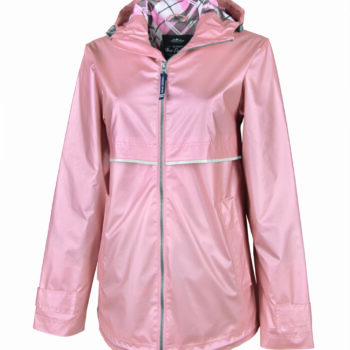5099 New Englander Rain Jacket   Rose Gold