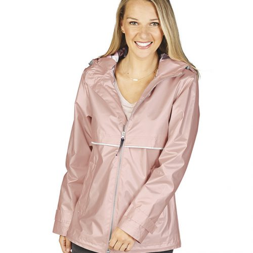 5099 New Englander Rain Jacket   Rose Gold