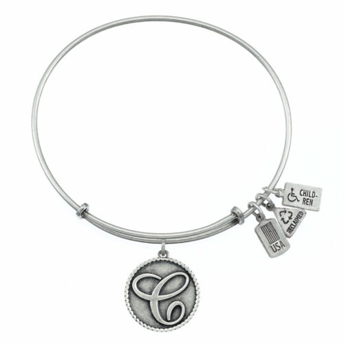 C Silver Initial   Silver
