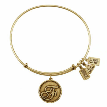 F Gold Initial   Gold