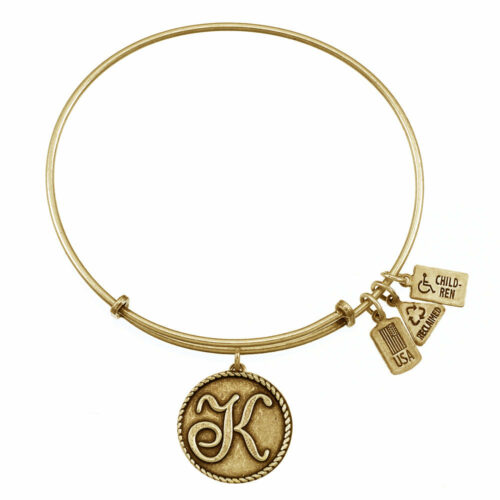 K Gold Initial   Gold