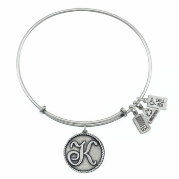 K Silver Initial   Silver