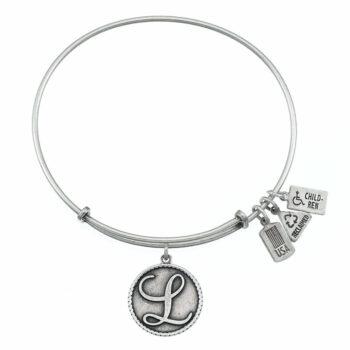 L Silver Initial   Silver