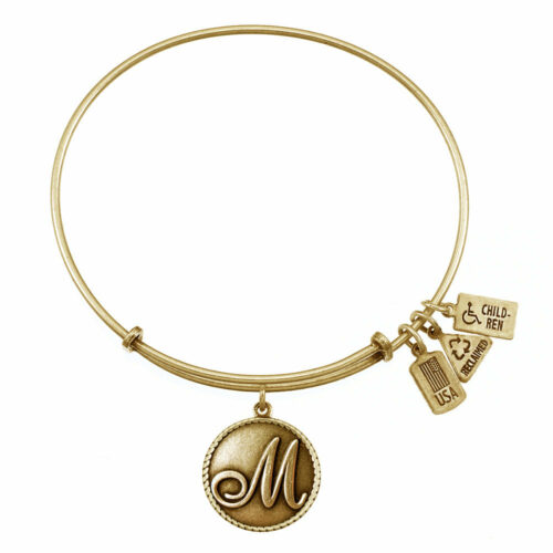 M Gold Initial   Gold