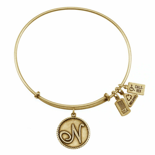 N Gold Initial   Gold