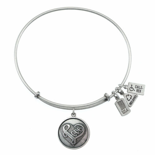 Heart Love Charm Silver   Silver
