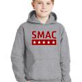 SMAC Youth Hoodie   Sport Grey