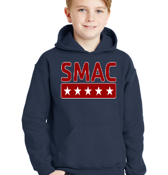 SMAC Youth Hoodie   Navy