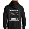 Micah's Heavy Blend Hoodie   Black