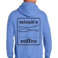 Micah's Heavy Blend Hoodie   Carolina Blue